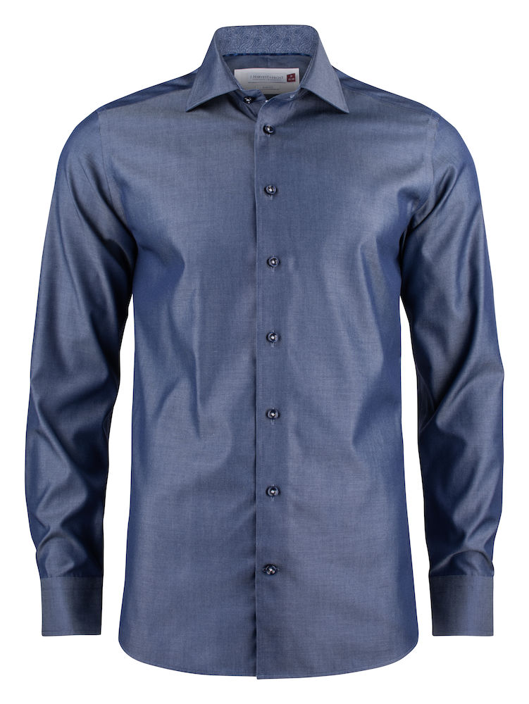Overhemd Harvest blauw